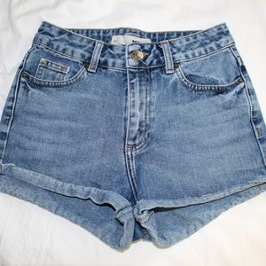 top shop shorts - sold
